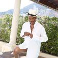 Exclusif - Antonio Fargas alias Huggy les Bons tuyaux dans la série  Starsky & Hutch , célèbre les 40 ans de la série culte Starsky & Hutch sur la terrasse d'une suite de l'hôtel Hermitage lors du 55e festival de télévision de Monte-Carlo. Le 15 juin 2015.