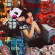 Jean-Marc Généreux dévoile une photo de Francesca, sa fille handicapée, lors des festivités de Noël. Décembre 2014.