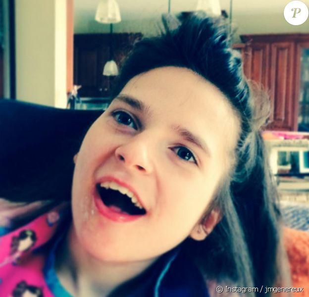 Jean-Marc Généreux a toujours une pensée pour sa fille handicapée Francesca. Il lui rend d'ailleurs hommage sur son compte Instagram. Juillet 2015.
