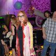 """Tori Amos - Showcase de Tori Amos lors de l'After Party du 10ème anniversaire du parfum """"Flowerbomb"""" de Viktor&Rolf au Trianon à Paris le 8 juillet 2015."""