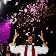 """Yassine Azzouz - Soirée du 10ème anniversaire de la création du parfum """" Flowerbomb"""" de Viktor&Rolf au Trianon à Paris le 8 juillet 2015"""