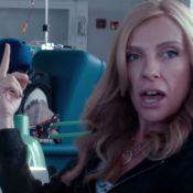 Toni Collette, chauve, lutte contre le cancer avec son amie Drew Barrymore