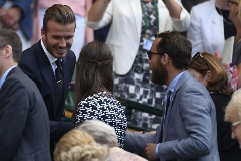 Pippa Middleton, lookée à Wimbledon : Charmée par Beckham, idole de ces dames !