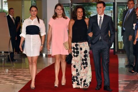 Stéphanie de Monaco : Ses enfants Louis, Pauline et Camille l'épaulent en beauté