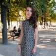 """Charlotte Casiraghi - Lancement de la collection """"Montblanc Bohème Moongarden"""" à l'Orangerie Ephémère du jardin des Tuileries, place de la Concorde à Paris, le 9 juillet 2015."""
