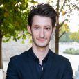 """Pierre Niney - Lancement de la collection """"Montblanc Bohème Moongarden"""" à l'Orangerie Ephémère du jardin des Tuileries, place de la Concorde à Paris, le 9 juillet 2015."""
