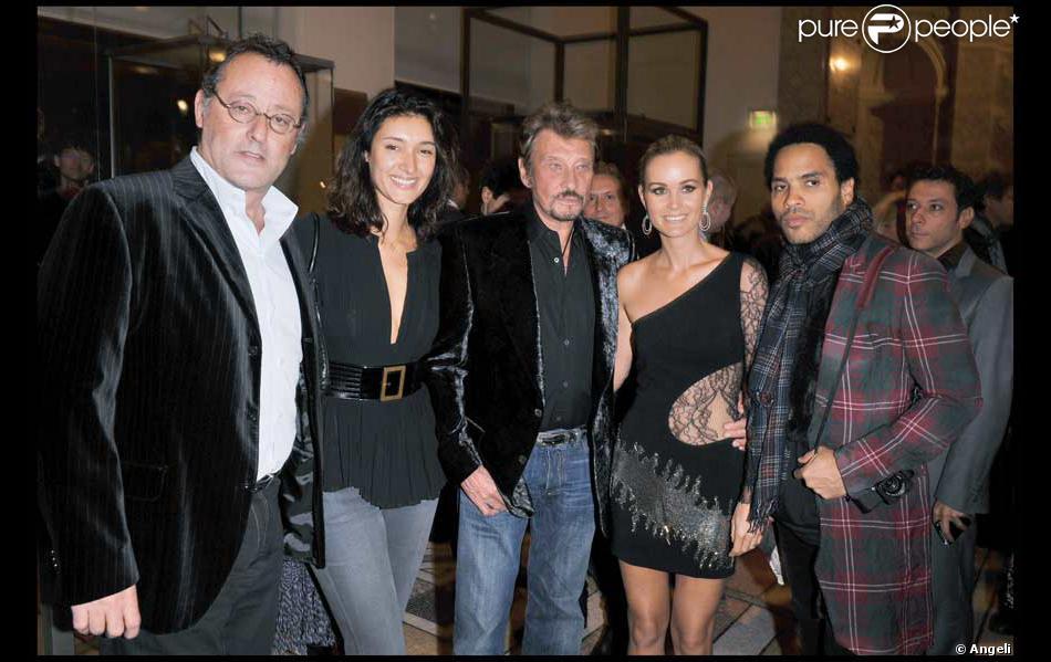 Jean Reno Sa Femme Zofia Johnny Et Maison De Nathalie Baye En