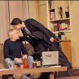Michel et Davy Sardou dans Secret de Famille