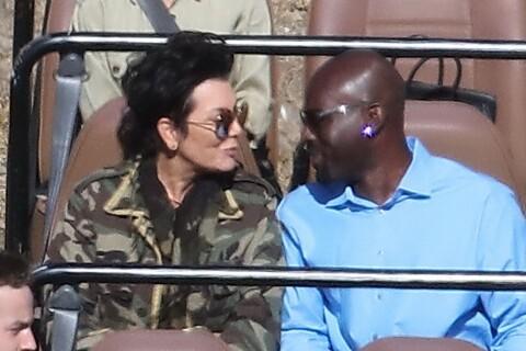Kris Jenner et Corey Gamble : Safari et voyage en amoureux