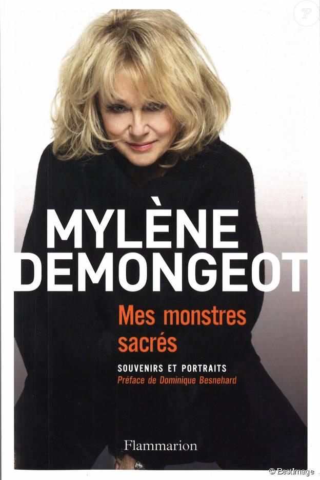 """Illustration du livre de Mylène Demongeot """"Monstres sacrés, souvenirs et portraits"""" publié le 13 mai 2015"""