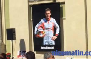 Obsèques de Jules Bianchi : L'émotion de ses parents, entourés du monde de la F1