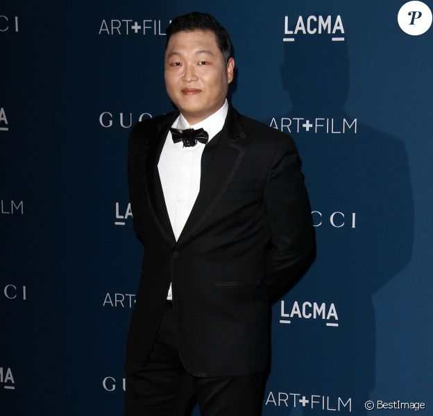 "PSY - Soiree du gala ""LACMA 2013 Art + Film"" a Los Angeles le 2 novembre 2013."