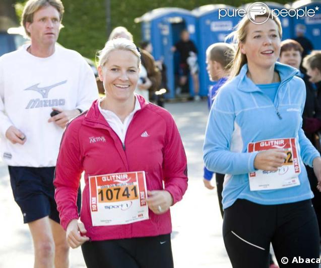 Mette-Marit de Norvège, 10km ne lui font pas peur !