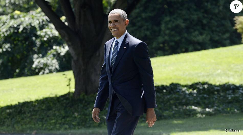 Barack obama la maison blanche le 14 juillet 2015 for Barack obama a la maison blanche