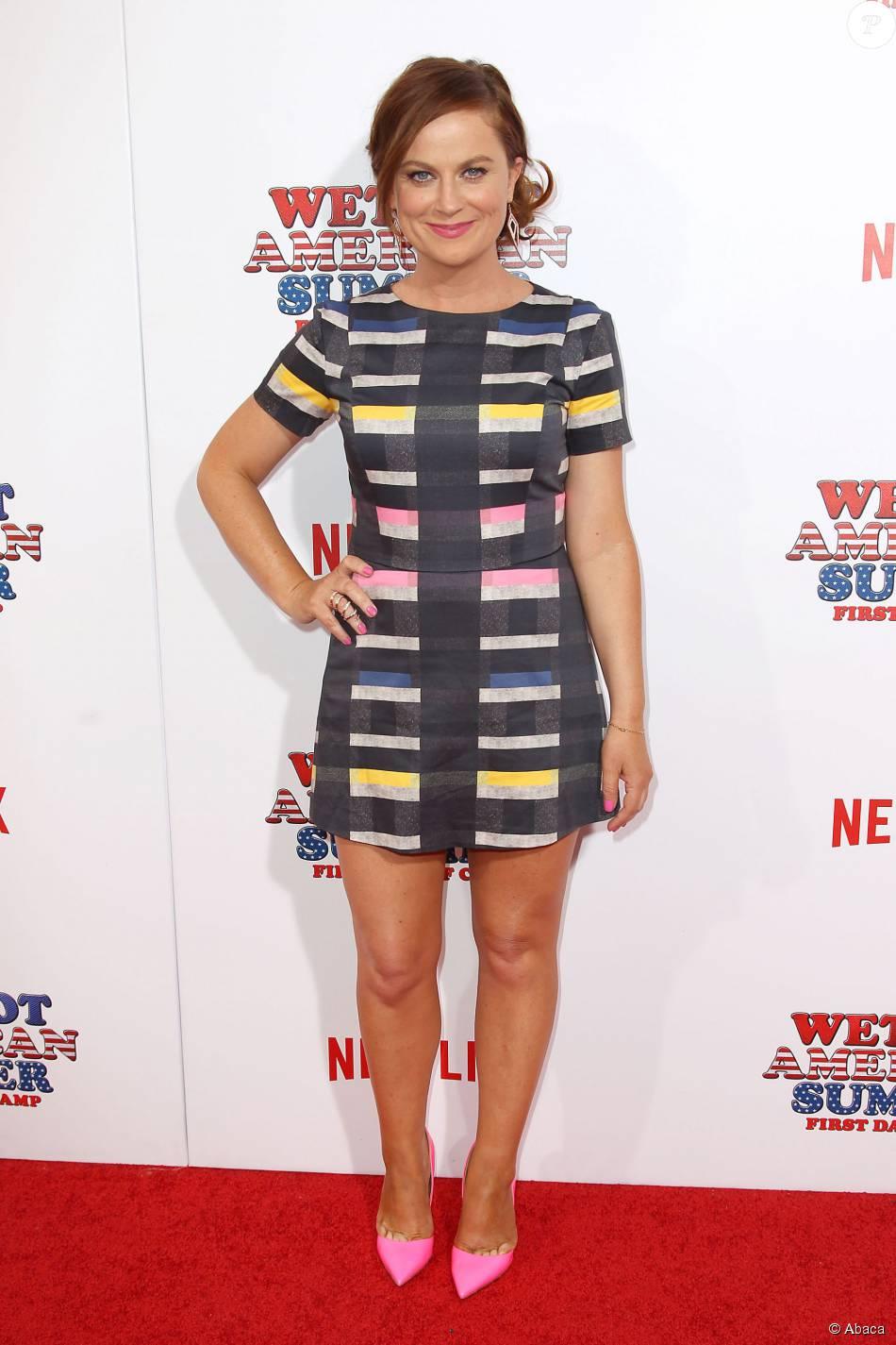 Amy Poehler A La Premiere De Wet Hot American Summer First Day Of Camp La Nouvelle Serie Netflix A New York Le 22 Juillet 2015 Purepeople