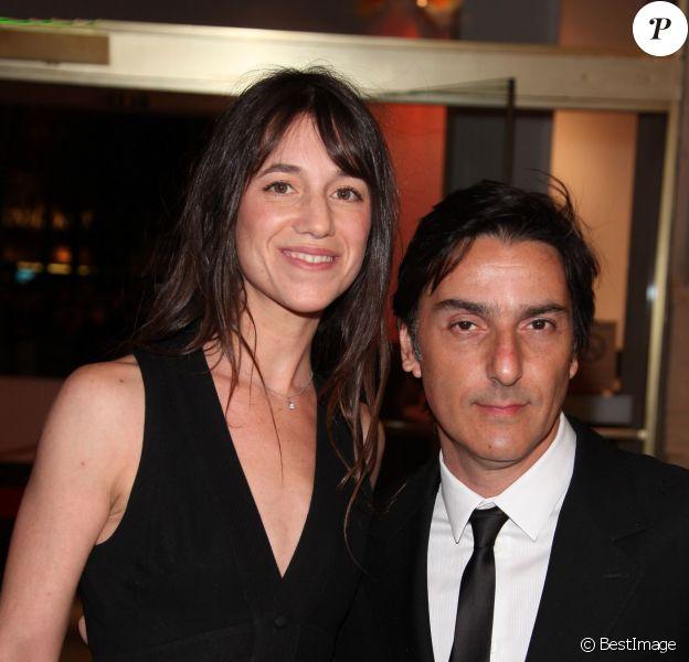 Charlotte Gainsbourg et Yvan Attal à Paris, février 2010.