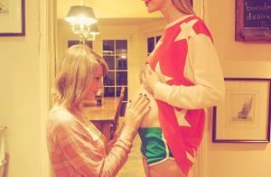 Jaime King présente son bébé Leo Thames à sa marraine, Taylor Swift