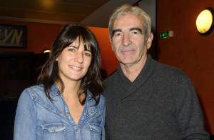 Estelle Denis et Raymond Domenech :