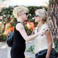 """""""Melanie Griffith et Heather Thomas à Beverly Hills, le 30/09/08"""""""