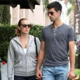 Exclusif - Novak Djokovic et sa femme Jelena Ristic à West Hollywood, le 10 mars 2015