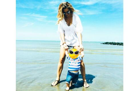 Emilie Nef Naf : Vacances chez les Ch'tis avec son adorable bébé Menzo !