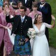 Andy Murray et Kim Sears se marient à la cathédrale de Dunblane en Ecosse, le 11 avril 2015.