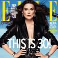 Keira Knightley en couverture du magazine ELLE