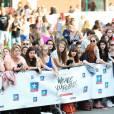 """Ambiance (fans) - Avant-première du film """"We Are Your Friends"""" au Kinepolis de Lomme (Lille), le 12 août 2015."""