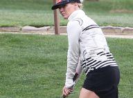 Jennie Garth : Partie de golf avec son nouveau mari, elle se donne à fond !