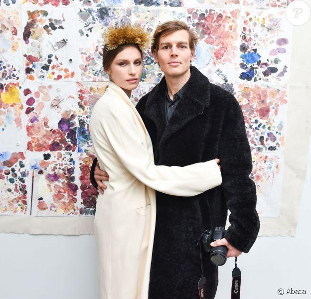 Tali Lennox, Ian Jones à la galerie d'art Catherine Ahnell à New York le 18 mars 2015
