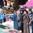 Ian Jones, Tali Lennox lors de l'événement Times Square Arts presents MARCO BRAMBILLA'S 'Apollo XVIII' Collaboration with NASA à New York le 3 mars 2015