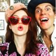 Tali Lennox et Ian Jones / photo postée sur le compte Instagram de la fille d'Annie Lennox.