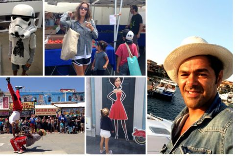 Jamel Debbouze : Ses photos de vacances à Hollywood avec Mélissa et les enfants