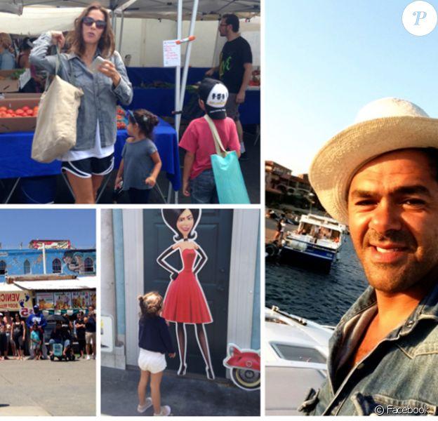 Jamel Debbouze profite de ses vacances en famille !
