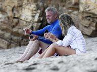 Eric Dane et Rebecca Gayheart : Journée à la plage avec leurs adorables filles
