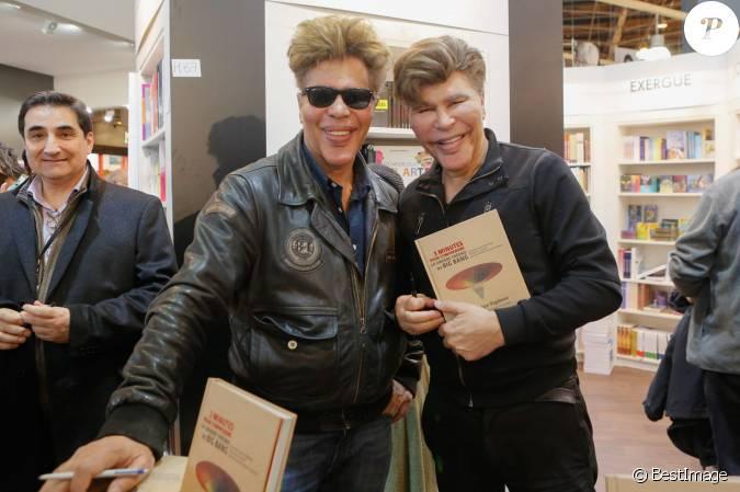 Les jumeaux grichka et igor bogdanoff bogdanov salon for Salon du x porte de versailles