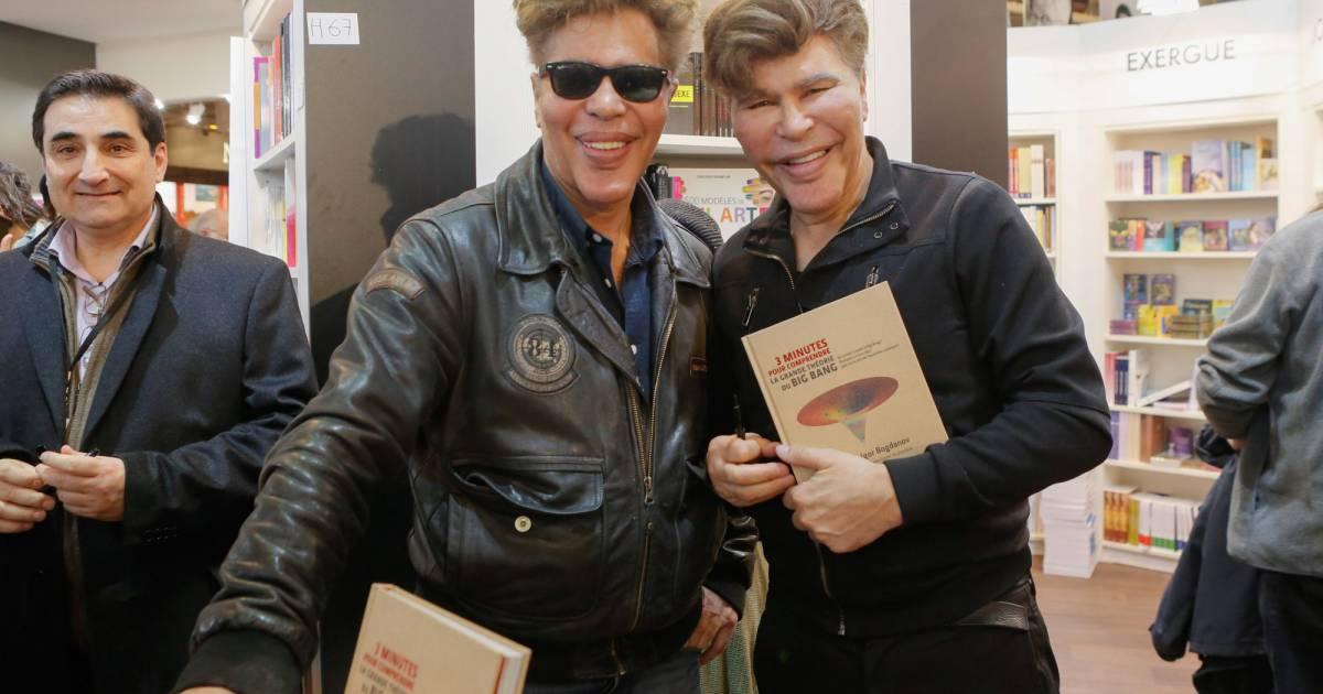 Les jumeaux grichka et igor bogdanoff bogdanov salon for Salon zen porte de versailles 2015