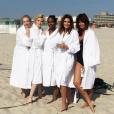 Tatjana Patitz, Nadja Auermann, Karen Alexander, Cindy Crawford et Helena Christensen se sont réunies vingt ans après
