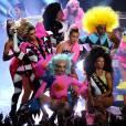 Miley Cyrus - Soirée des MTV Video Music Awards à Los Angeles, le 30 août 2015.