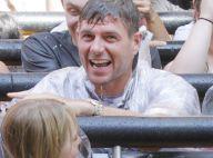 Steven Gerrard : La star du foot et sa belle s'éclatent en famille à Hollywood