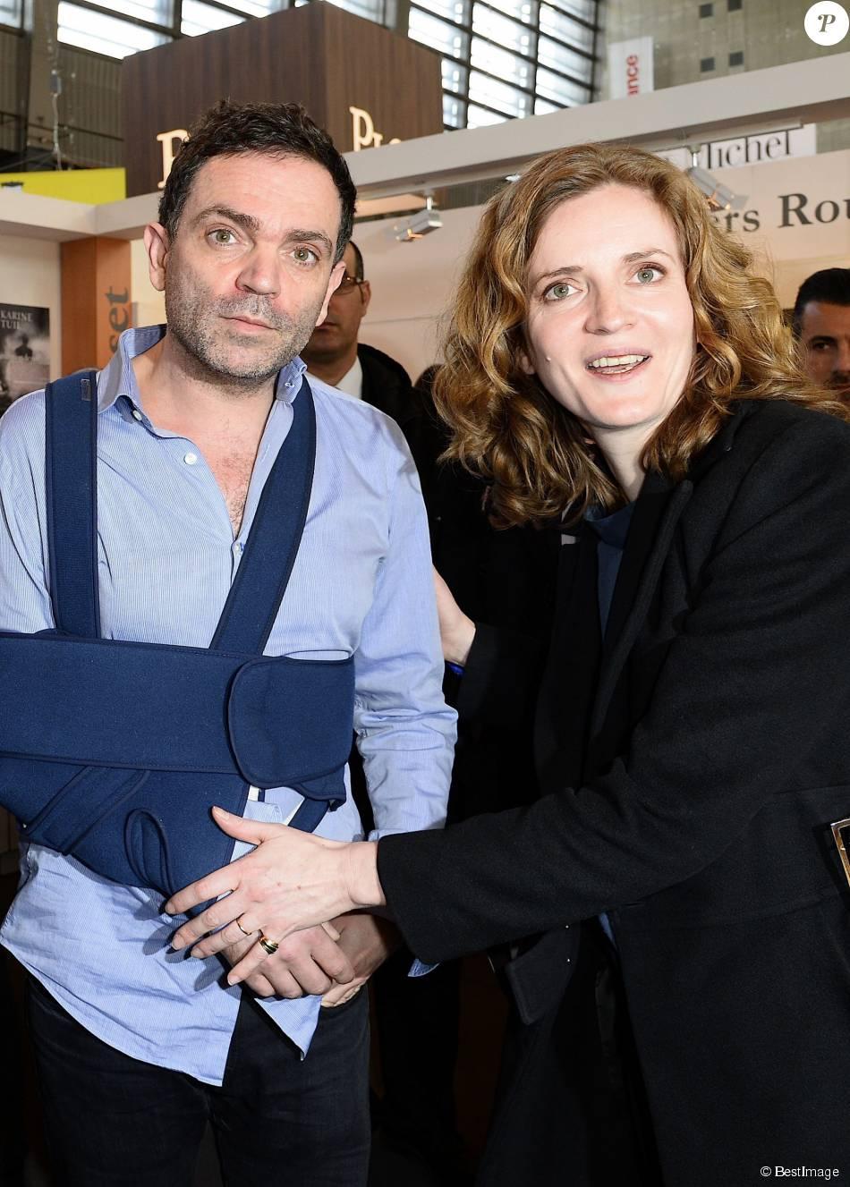 Yann moix et nathalie kosciusko morizet 34e dition du for Salon porte de versailles 2014