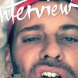 Mert Alas en couverture du nouveau numéro du magazine  Interview .