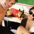 Ian Somerhalder a posté une photo avec sa belle Nikki Reed sur son compte Instagram.