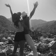 Nikki Reed et son mari Ian Somerhalder / photo postée sur le compte Instagram de l'actrice américaine.