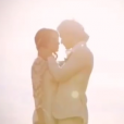 Nikki Reed et son mari Ian Somerhalder le jour de leur mariage / photo postée sur le compte Instagram de l'actrice américaine.