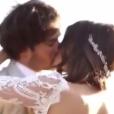 Nikki Reed et Ian Somerhalder se sont mariés / photo postée sur le compte Instagram de l'actrice américaine.