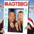 """Heidi Klum, Howie Mandel - Soirée de l'émission """"America's Got Talent"""" Saison 10 et évènement BBQ à New York, le 2 septembre 2015."""