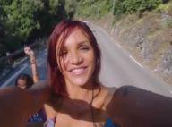 Julia Paredes (Les Anges) : Bimbo sexy dans un clip, elle se blesse gravement