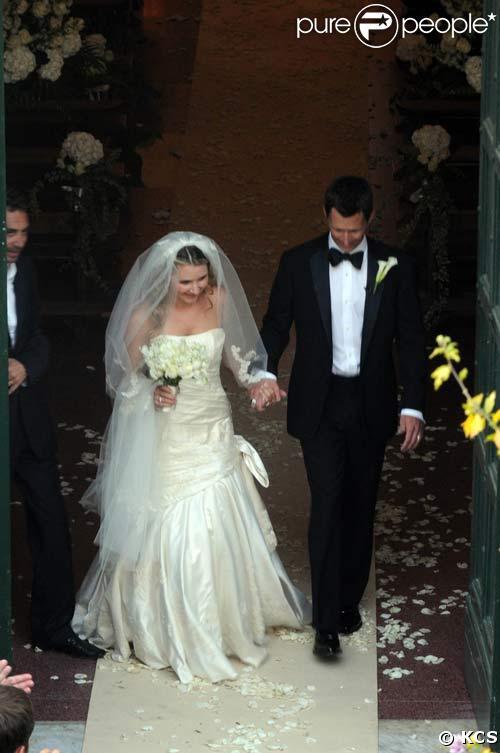 Mariage de Beverley Mitchell et Michael Cameron, en Italie, le 1/10/08