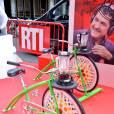 Vélo centrifugeuse - Conférence de rentrée de RTL à Paris. Le 8 septembre 2015 08/09/2015 -